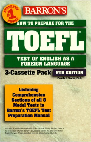 9780764172984: Barron's How to Prepare for the Toefl: Test of English As a Foreign Language