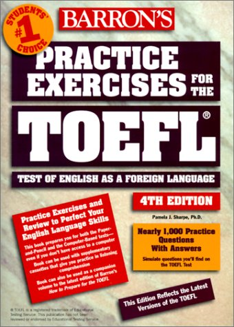 9780764173011: Practice Exercises for the TOEFL with Cassette(s)