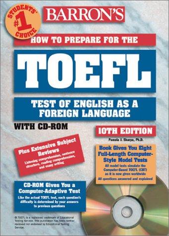 9780764174667: HOW TO PREPARE FOR THE TOEFL 10TH EDITION LIVRE ET CD ROM (Académique)