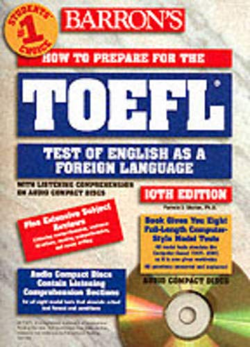 9780764174674: How to prepare for the TOEFL 10th edition book with audio cds