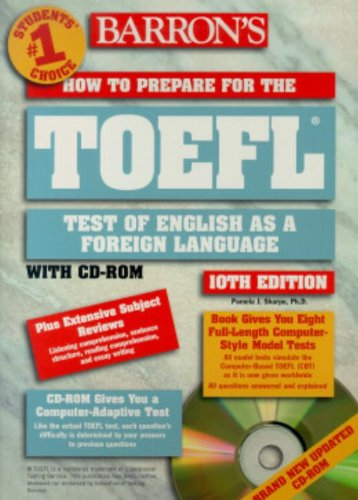 9780764175008: How to Prepare for the Toefl: Test of English As a Foreign Language (BARRON'S HOW TO PREPARE FOR THE TOEFL TEST OF ENGLISH AS A FOREIGN LANGUAGE)