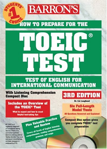 9780764175145: How to prepare for the TOEIC Test. With 4 CD Audio, 3rd edition (Barron's How to Prepare for the Toeic Test Test of English for International Communication)