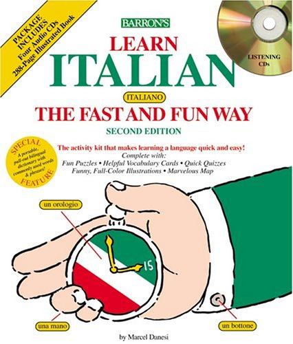 9780764175268: Barron's Learn Italian the Fast and Fun Way: Bilingual