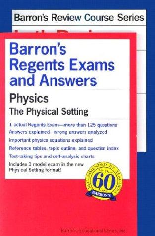 9780764175312: Regents Physics Power Pack (Regents Power Packs)