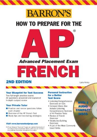 9780764175800: How to Prepare for the AP French with Audio CDs (Barron's How to Prepare for AP French)