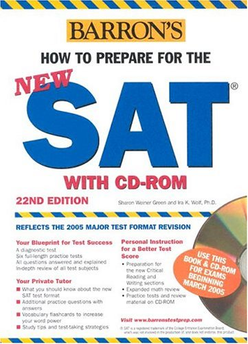 9780764175879: How to Prepare for the NEW SAT with CD-ROM (Barron's SAT (W/CD))