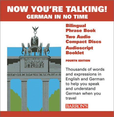 9780764176715: Now You're Talking German with CDs (Now You're Talking Series)