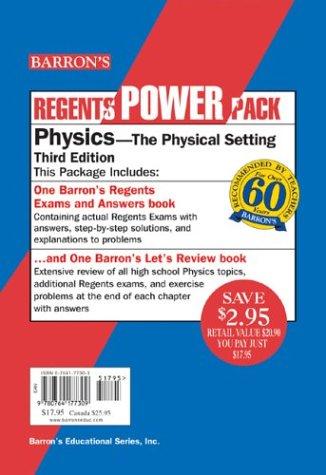 9780764177309: Physics Regents Power Pack (Regents Power Packs)