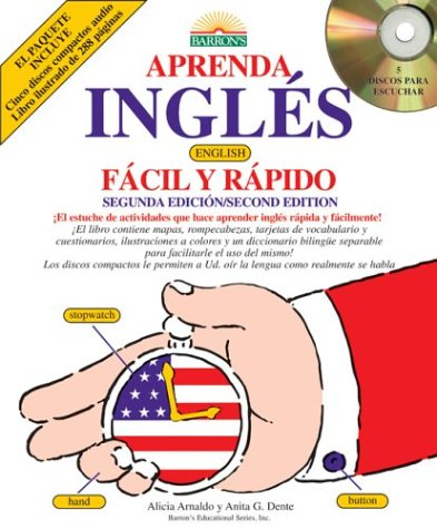 9780764177361: Aprenda Ingles Facil y Rapido with Audio CDs: English for Spanish Speakers the Fast and Fun Way (Fast and Fun Way Compact Disc Packages) (Spanish Edition)