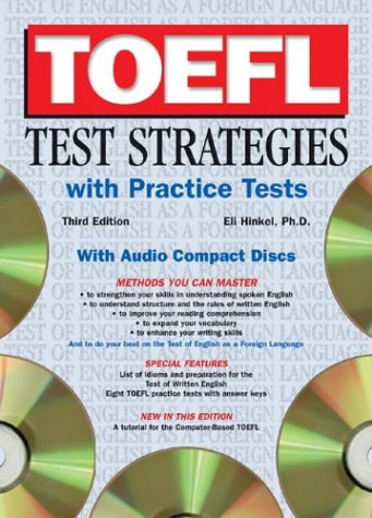 9780764177453: TOEFL Test Strategies with Practice Tests with Audio CDs [With Practice Tests and CD]