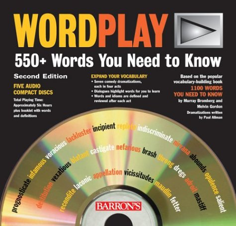 9780764177507: Wordplay: 550+ Words You Need to Know