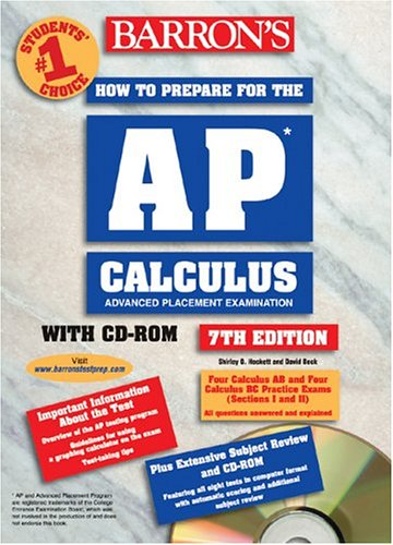 9780764177514: How to Prepare for the AP Calculus with CD-ROM (Barron's AP Calculus (W/CD))