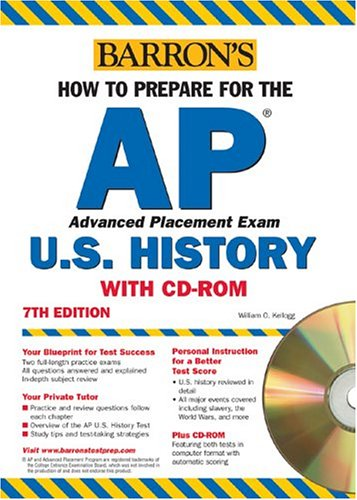 9780764177521: How to Prepare for the AP U.S. History with CD-ROM (Barron's AP United States History (W/CD))