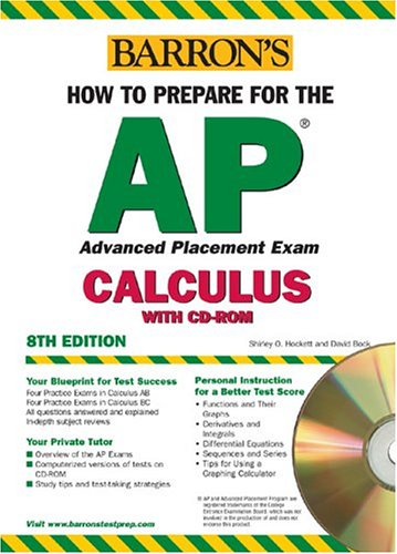 9780764177668: How to Prepare for the AP Calculus with CD-ROM (Barron's AP Calculus (W/CD))