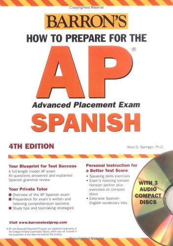 9780764178016: How to Prepare for the AP Spanish with Audio CDs
