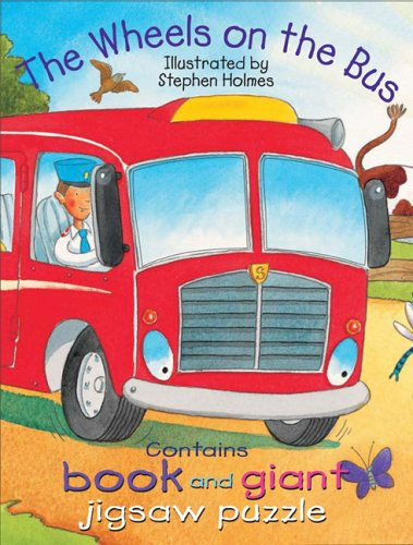 9780764178740: Wheels on the Bus (Book and Puzzle Packs)
