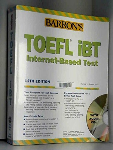 9780764179174: Barron's TOEFL iBT Test of English as a Foreign Language with Audio CDs (BARRON'S HOW TO PREPARE FOR THE TOEFL TEST OF ENGLISH AS A FOREIGN LANGUAGE)