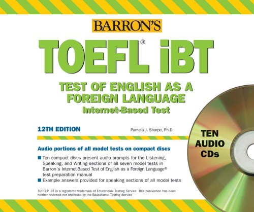 9780764179181: TOEFL iBT Audio CD Package (Barrons How to Prepare for the TOEFL)