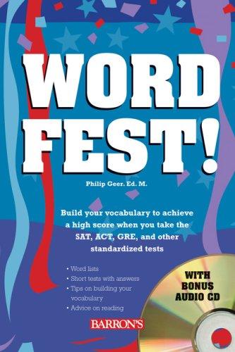 Wordfest! with Audio CD (Book & CD): Philip Geer