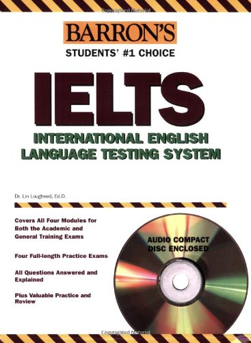 9780764179358: Barron's IELTS with Audio CD: International English Language Testing System (Barron's Ielts: International English Language Testing System)