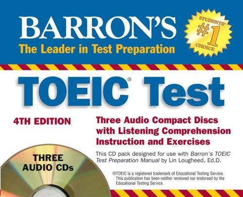 9780764179525: Barron's TOEIC Test