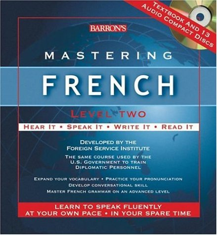 9780764179761: Mastering French Level Two: Audio CD Package (Mastering Series/Level 2 Compact Disc Packages)