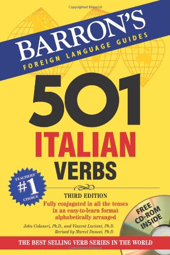 9780764179822: 501 Italian Verbs: with CD-ROM (501 Verbs Series) (Italian and English Edition)