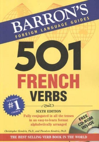 9780764179839: 501 French Verbs: with CD-ROM (501 Verbs Series)