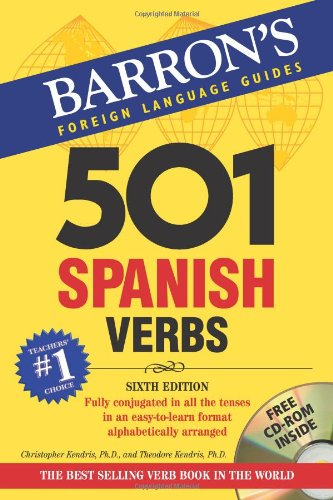 9780764179846: Barron's Foreign Language Guides: 501 Spanish Verbs (Book & CD-ROM)