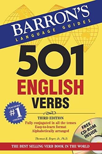 501 English Verbs: with CD-ROM (Barron's 501 English Verbs (W/CD)): T.R. Beyer Jr.