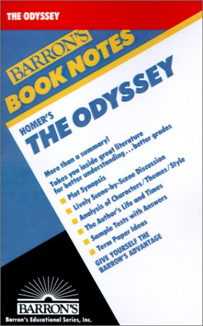 9780764191190: Homer's the Odyssey (Barron's Book Notes)