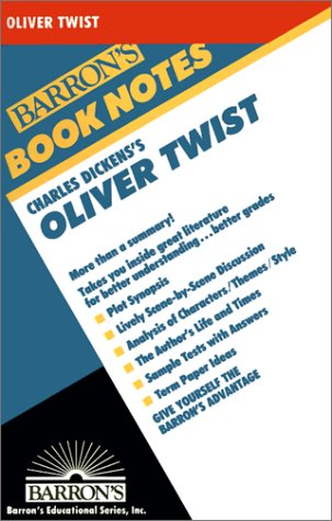 9780764191619: Charles Dicken's Oliver Twist (Barron's Book Notes)