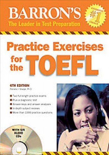 9780764193170: Practice Exercises for the TOEFL with 6 Audio CDs: (Test of English as Foreign Language) (Barron's Practice Exercises for the Toefl)