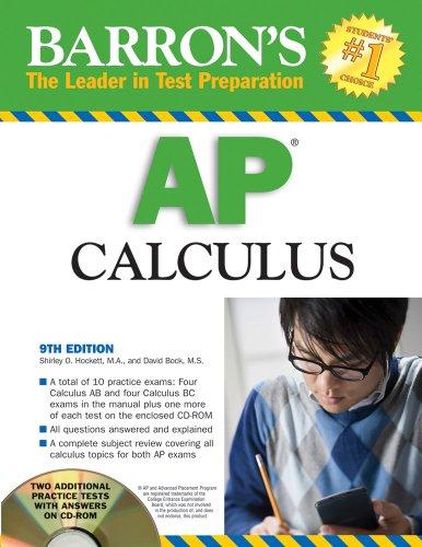 9780764193286: Barron's AP Calculus with CD-ROM (Barron's AP Calculus (W/CD))