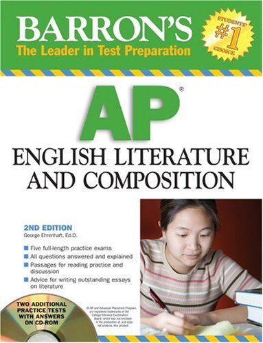 9780764193316: Barron's AP English Literature and Composition with CD-ROM