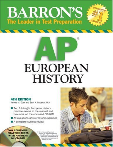 9780764193323: Barron's AP European History 2008 (Barron's: the Leader in Test Preparation)