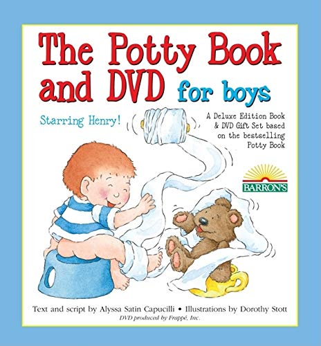 The Potty Book and DVD for Boys Starring Henry! Gift Set [With DVD]