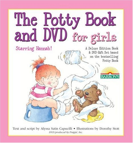The Deluxe Potty Book and DVD Package for Girls: Hannah Edition