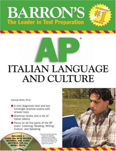 9780764193682: Barron's AP Italian Language and Culture