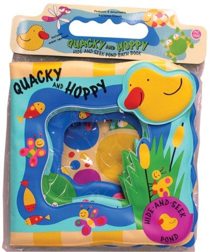 9780764193774: Quacky and Hoppy: Hide-and-Seek Pond Bath Book