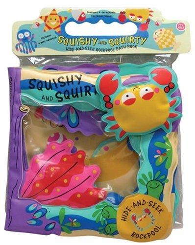 9780764193781: Squishy and Squirty: Hide-and-Seek Rockpool Bath Book