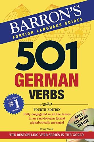 9780764193934: 501 German Verbs with CD-ROM (501 Verb Series)