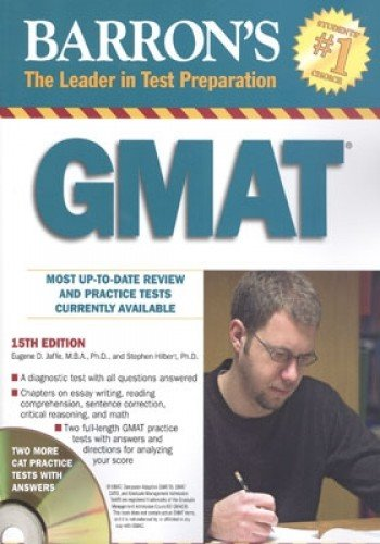 9780764194863: Barron's GMAT with CD-ROM (BARRON'S GMAT GRADUATE MANAGEMENT ADMISSION TEST)