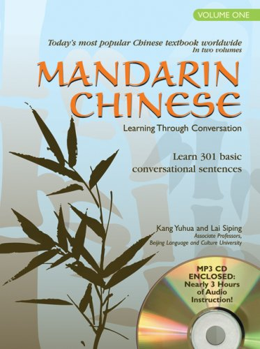 9780764195174: Mandarin Chinese: Learning Through Conversation lessons 1-20