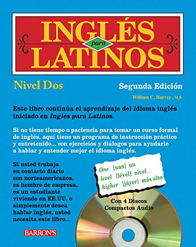 9780764195471: Ingles para Latinos with Audio CDs, Level 2