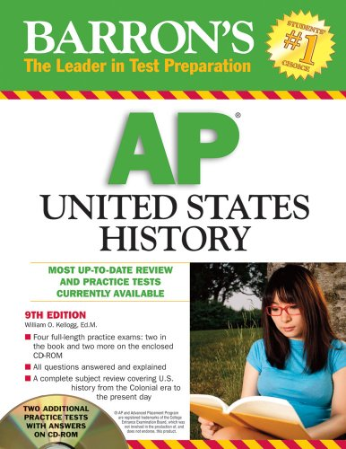 9780764195723: Barron's AP United States History with CD-ROM