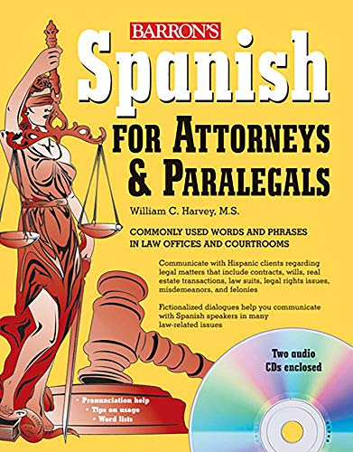 9780764196119: Spanish for Attorneys and Paralegals with Audio CDs