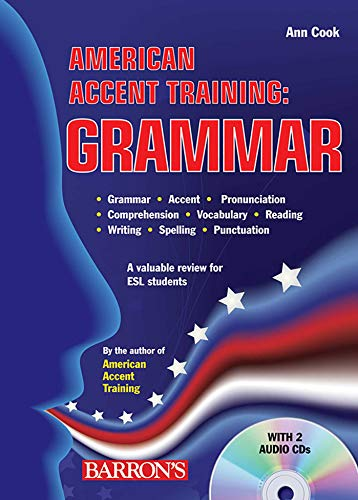 9780764196515: American Accent Training: Grammar with Audio CDs