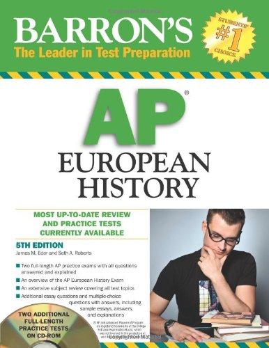 9780764196720: AP European History (Barron's Ap European History)