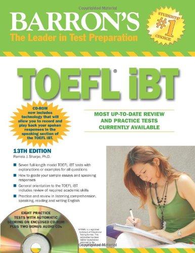 9780764196980: Barron's TOEFL iBT